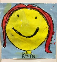 Children's Author Todd Parr self-portraits by First Grade-http://2soulsisters.blogspot.com/2016/03/tiny-people-rocking-with-todd-parr.html