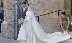 Lady Charlotte Wellesley and Alejandro Santo Domingo marry in lavish Spanish wedding