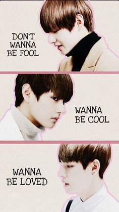 #V #Taehyung #BTS #wallpaper #ILikeItlyrics how he look from the side