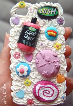 Lush inspired iPhone 4 decoden cover