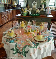 Beautiful Easter table!