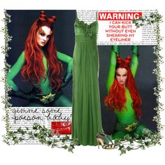 A fashion look from June 2009 featuring long dresses, heeled sandals and vintage handbags. Browse and shop related looks. Movie Outfits, Batman Robin, Poison Ivy, Vintage Handbags, Kicks, Fashion Looks, Movie Posters, Poison Oak Plant, Film Poster