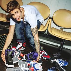 Justin and shoes?