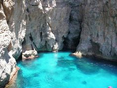 The sea of the Gods: Marettimo, west coast