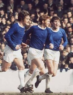 The Holy Trinity - Colin Harvey, Alan Ball and Howard Kendall