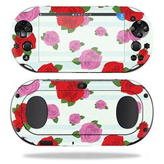 MightySkins Protective Vinyl Skin Decal for Sony PS Vita WiFi 2nd Gen wrap cover sticker skins Roses * Visit the image link more details. Note:It is affiliate link to Amazon.