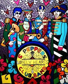 Romero Britto: The Beatles