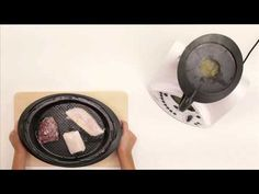 Receta Thermomix -Puré de verduras con carne, pescado o pollo. - YouTube