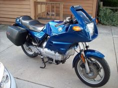 1985 BMW K100RS--I bought a new one just like it and picked it up from the factory in Berlin. Rode it for 3 years. Superb machine.