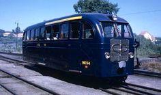 Automotora ME53 (Viseu 1972) na Linha do Vouga, Portugal Portugal, Trains, Line, Islands, Train