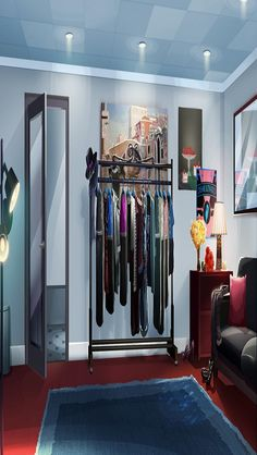 backgrounds episode anime bedroom living scenery interactive 1136 640 dressing story kitchen choose epic interior tour int