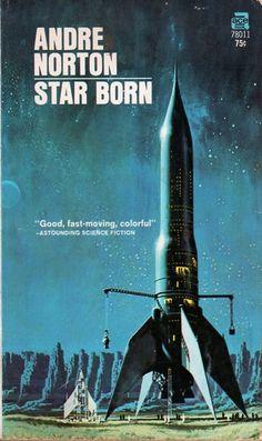 DEAN ELLIS - art for Star Born by Andre Norton - 1971 Ace paperback