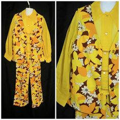 Vintage 1960's 1970's / Girls MOD Flower Power by CicelysCloset