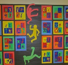 Keith Haring - art show sneak peekKeith Haring Art - If incorporating art into your curriculum is important to you, you need to pin this!Keith haring and more good art lessonsA kick ass Keith Haring project. Middle School Art, Art School, Arte Elemental, Keith Haring Art, 6th Grade Art, Ecole Art, Art Curriculum, School Art Projects, Art Lessons Elementary