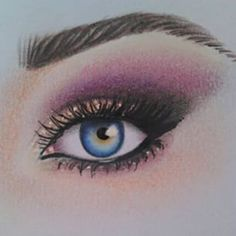Instagram photo by hajar_arts - #repost what do u think? :) #myart #eye #drawing #coloured