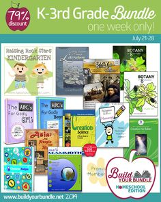 #Homeschool your young #Elementary students for just $39 ($187 value). One week only! #Kindergarten