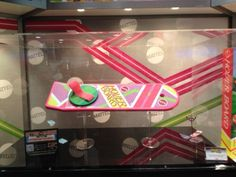 Marty McFly and Mattel  hoverboard (back to the future)