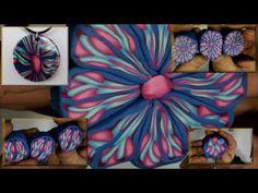 0078 - Vidéo - Tuto - Bouquet de pétales - FIMO PRO