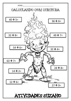 Calculando com os personagens folclóricos - Atividades Adriana