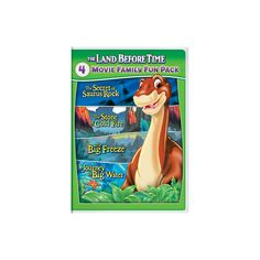 The Land Before Time VI-IX 4-Movie Family Fun Pack (Dvd)