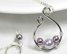 sterling wire wrapped jewelry, Google Search - I would wear that, and it looks versatile!