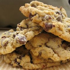 . Easy Oatmeal Chocolate Chip Cookies Recipe from Grandmothers Kitchen.