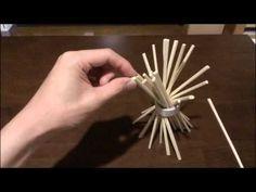 【老人レク】 割り箸で棒倒し - YouTube