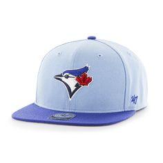 Toronto Blue Jays No Shot Two Tone Captain Columbia 47 Brand YOUTH Hat 9cb9ec8290a7