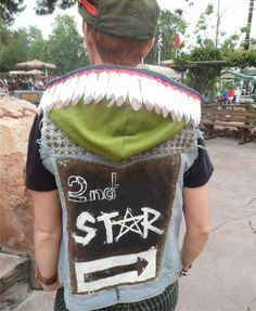 This is how you punk up your cosplay. @maryboydston17 ive seen this and punk tink! omggggg. I NEED IT.