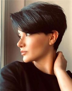 Today we have the most stylish 86 Cute Short Pixie Haircuts. We claim that you have never seen such elegant and eye-catching short hairstyles before. Pixie haircut, of course, offers a lot of options for the hair of the ladies'… Continue Reading → Choppy Bob Hairstyles, Short Hairstyles For Thick Hair, Short Pixie Haircuts, Short Hair Cuts, Curly Hair Styles, Very Short Hairstyles, Long Hair, Casual Hairstyles, Girl Short Hair