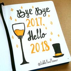 Goodbye, 2017! Hello, 2018! May the dawning of this New Year Open up for you New Horizons. Fill your heart with New Hopes and bring for you!❤️ Promises of Brighter Tomorrows! Wishing you Happiness and Prosperity in the Welcome New year 2018!✨ Happe New Year! #littlemore #littlemoreplanner #planasuccessfulday #happynewyear2018 #planninghappydays #littlemorebulletjournal #bulletjournal #bulrjournalideas #hello2018