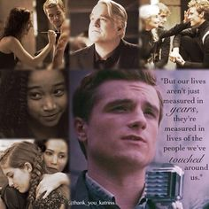 One of the best and truest quotes from the movie --Today will be hard, but I'll get through it--Have a great day guys, love you all!!❤️✨#katniss #peeta #