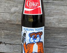 AUBURN Tigers 1983 Championship Vintage Coke Bottle
