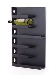 Home Bars & Wine Storage Wall Wine Holder, Wine Rack Wall, Wine Holders, Wine Storage, Kitchen Storage, Locker Storage, Cool Wine Racks, Contemporary Wine Racks, How To Varnish Wood