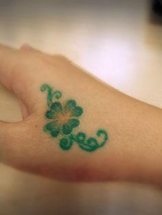 tattoos/Four-leaf clover tattoo