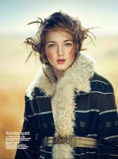 Sofie Sjaastad by Boo George for Teen Vogue 2013