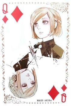 Akira ~ Queen of Diamonds ~ Tokyo Ghoul trump cards