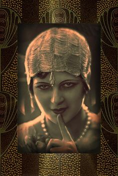 thatbohemiangirl:  My Bohemian History Fabulously adorned flapper found on Pinterest