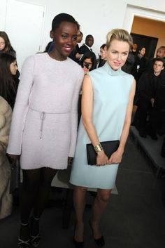 Lupita Nyong'o and Naomi Watts [Photo by Steve Eichner]