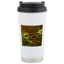 Nerve cell growth Stainless Steel Travel Mug