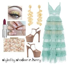"""""""Colonial"""" by shadeenie on Polyvore featuring Elie Saab, Kenneth Jay Lane, Gucci, Phase Eight and Givenchy"""