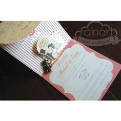 https://www.facebook.com/RainArtPaperie contact us : rainart07@gmail.com #invitation #stationery #packaging #wedding #birthday  #anniversary #party #paper #papergoods #design