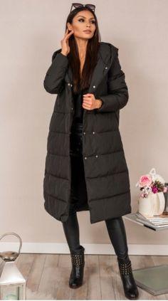 b026216c93291 kurtka damska, długa kurtka, kurtka pikowana, zimowa kurtka, ciepła kurtka,  stylizacja