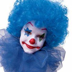Maquillaje payaso para niños