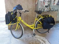 Poste italiane, postmans bike