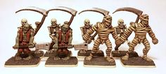 Mummies Zombies and Skeletons - Hero Quest