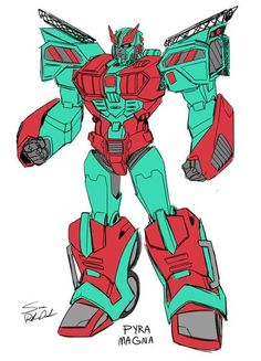 Sara Pitre-Durocher, the artist on the recent Combiner Hunters one-shot, has shared character models from the comic. This features the easily overlooked individuals whom form the fan built combiner