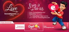 This year make Foreseegame.com your Valentine. Write your love for foreseegame followed by #LoveForFSG to express your love and emotions @http://goo.gl/APzMLZ .So go ahead & win a personalised gift from foreseegame.com.