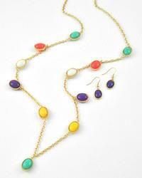 Gumdrop Necklace ~ 18.00