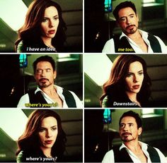 That look Tony gives her at the end